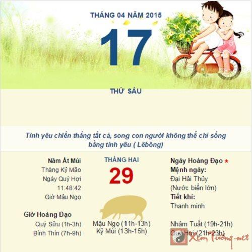 Tìm hiểu về Âm lịch