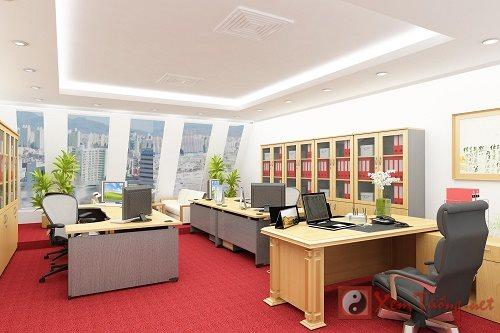 Ứng dụng Ngũ hành trong bố trí phòng làm việc