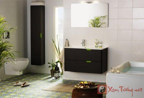 Phong thủy phòng tắm: Đặt hướng dữ lại càng lành