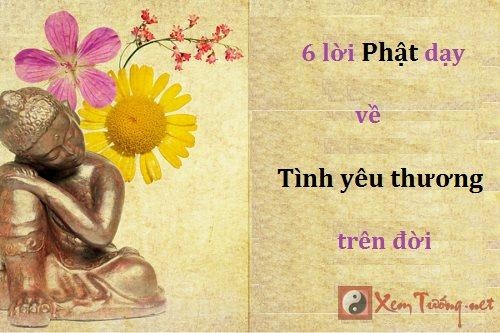 Suy ngẫm 6 điều Phật dạy về tình yêu thương trên đời