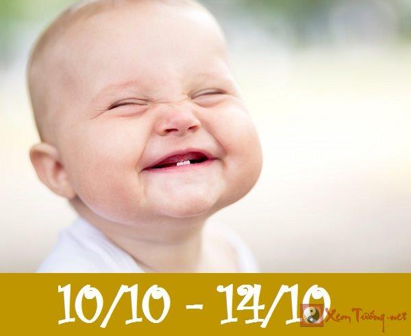 Giải mã ý nghĩa ngày sinh (Từ ngày 10/10 tới ngày 14/10)