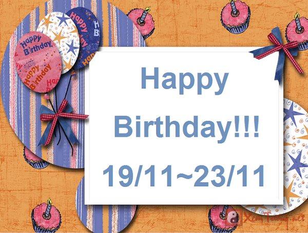 Giải mã ý nghĩa ngày sinh (Từ ngày 19/11 tới ngày 23/11)
