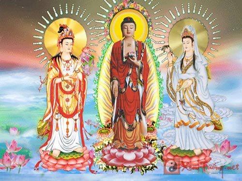 Miệng tụng Phật A Di Đà, kính ngưỡng ngày Phật đản sinh