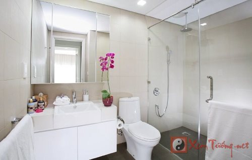 Phong thủy nhà vệ sinh giúp bạn cách đặt bồn cầu đúng cách