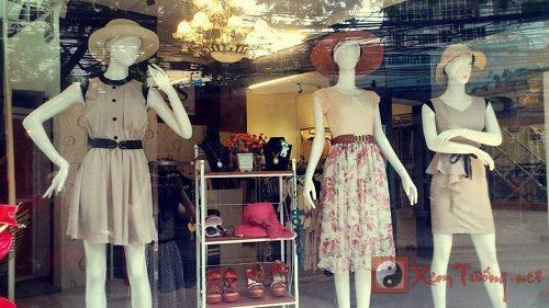 Phong thủy cửa hàng thời trang ăn lên làm ra