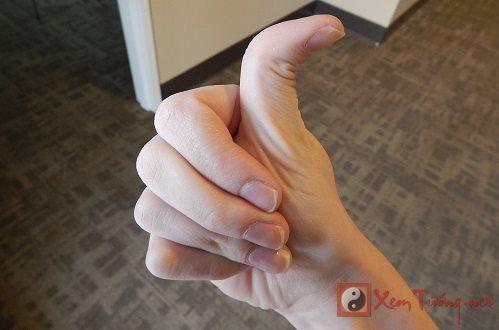 Điều chưa từng công bố về tướng ngón tay cái bẻ ngược