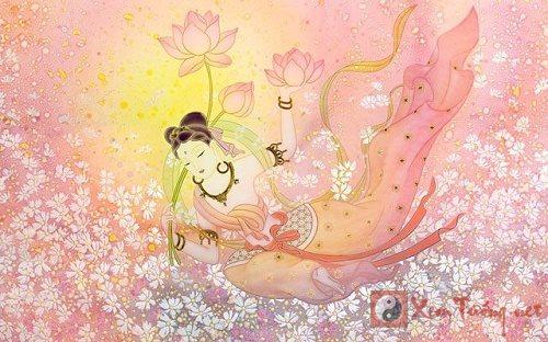 Tết Trung Thu kính ngưỡng ngày sinh Nguyệt Quang Bồ Tát