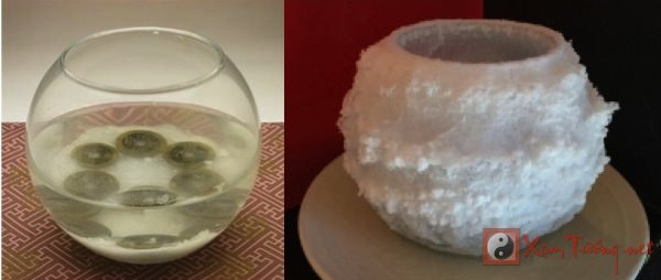 Vì sao nên đặt một bát nước muối phong thủy đúng ngày mùng 1 Tết