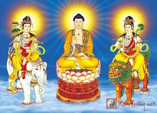Tu theo Bồ Tát, học theo đạo Phật để hưởng phúc