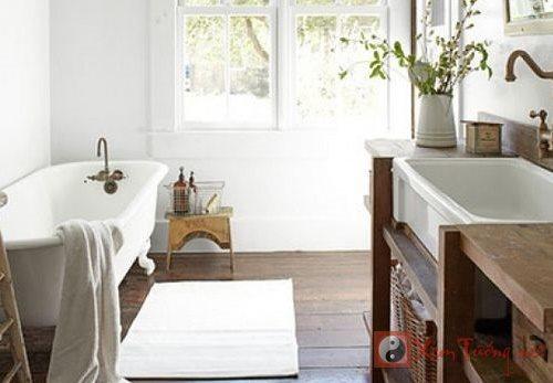 Phòng tắm hợp phong thủy để tránh thát thoát tiền của