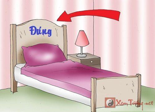 Phong thủy phòng ngủ: Kê giường tốt cho sức khỏe tài lộc