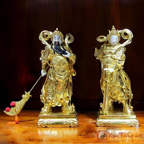 Già Lam Bồ Tát - Quan Công buông đao quy y cửa Phật
