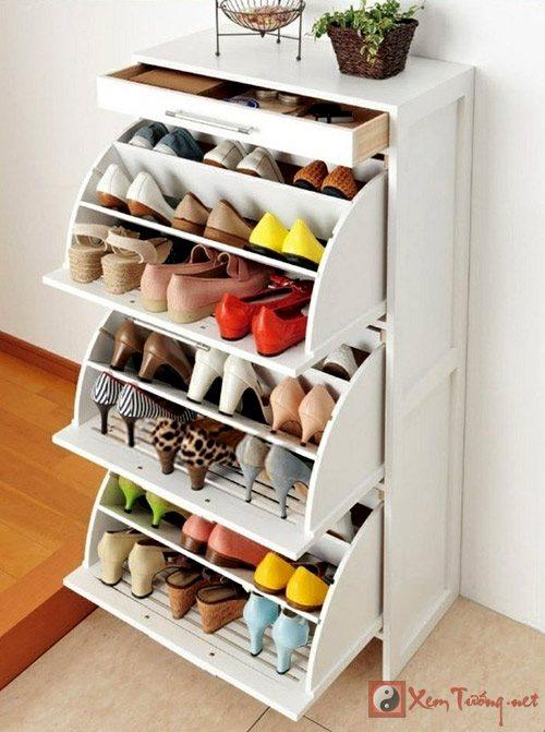 Vị trí đặt tủ giày khiến gia chủ đánh rơi may mắn