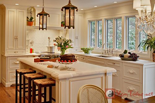 Phong thủy phòng bếp kiêm phòng ăn - không dễ như bạn tưởng