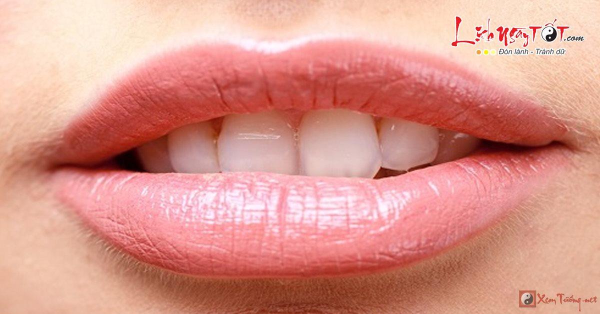 Xem tướng môi nói lên tính cách và vận mệnh của bạn