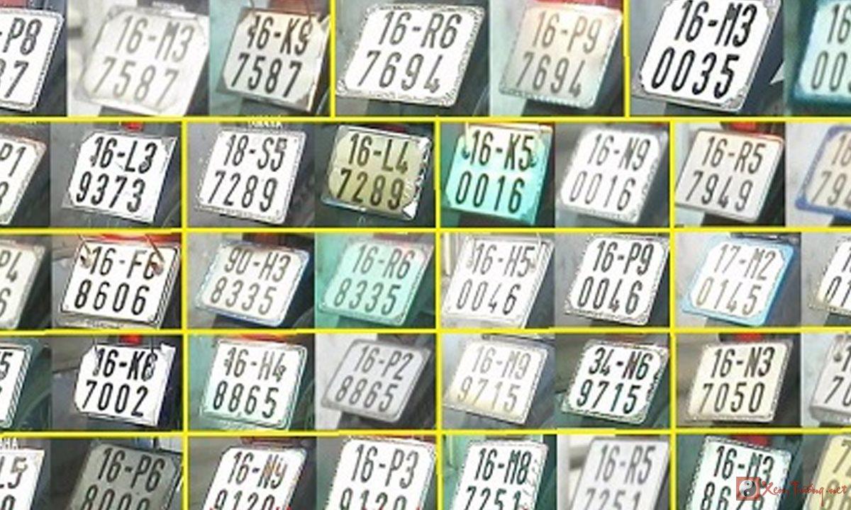 Công thức tự xem biển số xe hợp phong thủy và mệnh