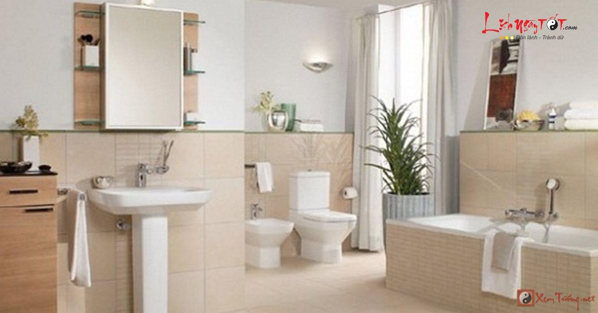 5 điều cấm kị khi bày gương trong nhà vệ sinh