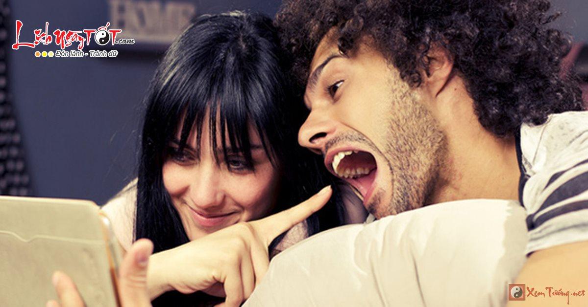 Phản ứng của 12 chòm sao nữ khi bạn trai kém lãng mạn