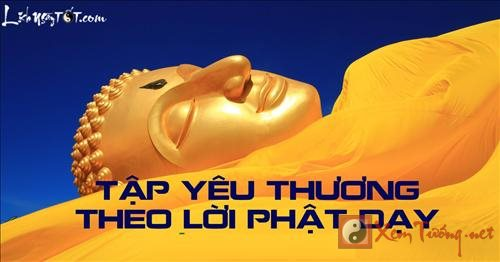 Tap yeu thuong theo phuong phap Phat day  hinh anh