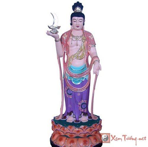 Tet Trung Thu kinh nguong ngay sinh Nguyet Quang Bo Tat hinh anh