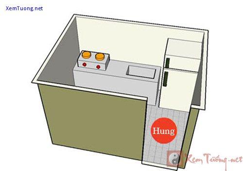 Tủ lạnh cạnh bếp - Kim khắc Hỏa gây nhiều thị phi - 1