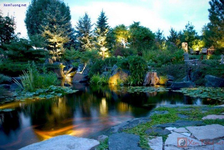 sân vườn lãng mạn