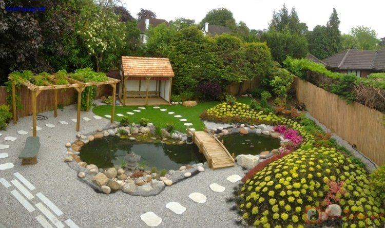 sân vườn gần gũi