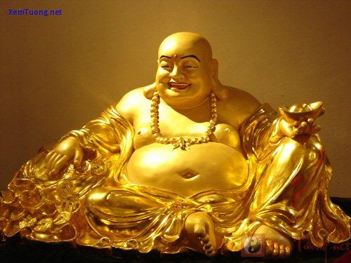 Tượng Phật Di Lặc giúp mang đi những âu lo, buồn phiền