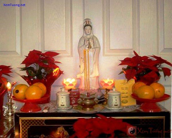 Những nguyên tắc khi bày tượng Phật