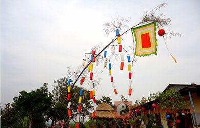 Ý nghĩa tục dựng cây nêu ngày Tết của dân tộc Việt Nam