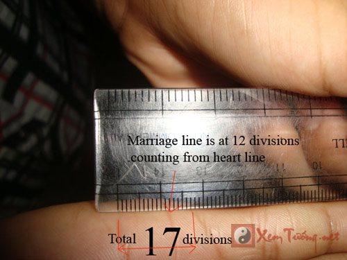 Xem bói tay tính độ tuổi kết hôn của bạn