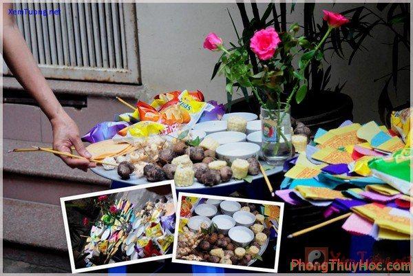 cung tam tai Lễ vật và bài văn khấn cúng Giải Hạn Tam Tai