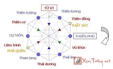 Ý nghĩa của các sao trong Lá Số Tử Vi