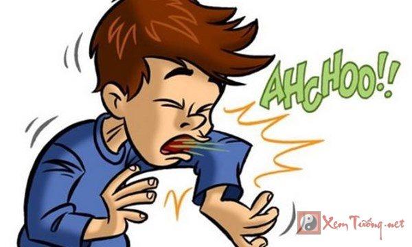 Những điềm báo về hiện tượng hắt xì hơi (nhảy mũi)
