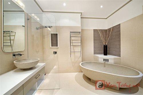 Nhà vệ sinh thẳng cuối giường, có đáng lo về mặt phong thủy? - Phong thủy phòng ngủ - Xem Tử Vi