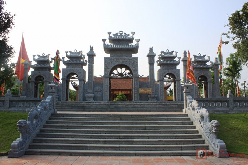 Nét kiến trúc xưa cũ Đền Trần - Hải Phòng