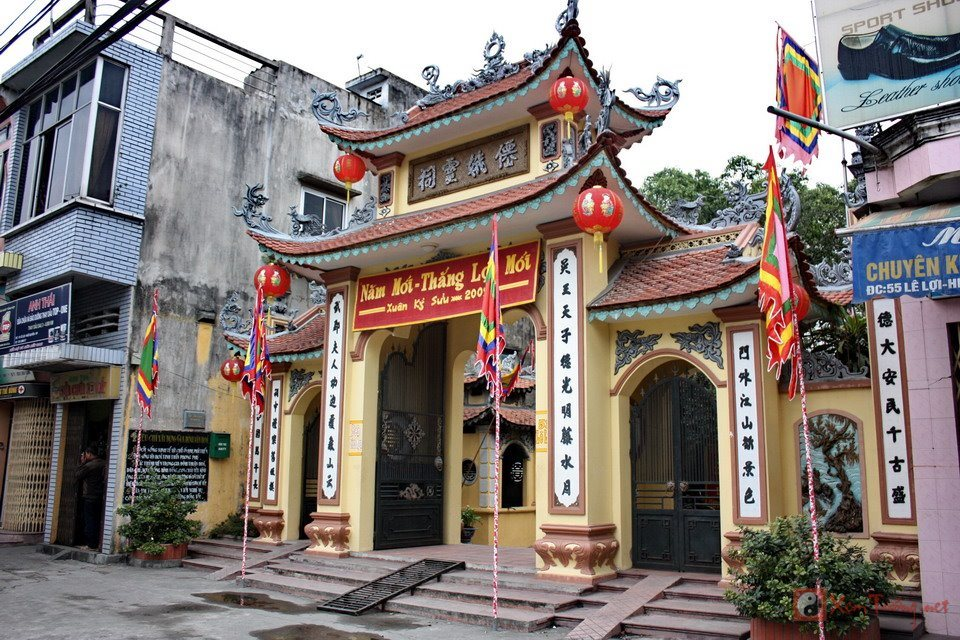 Đền Tiên Nga - Hải Phòng