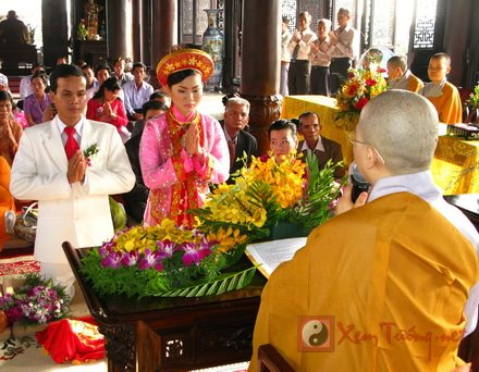 Ðức Phật không đặt ra những luật lệ cho đời sống hôn nhân