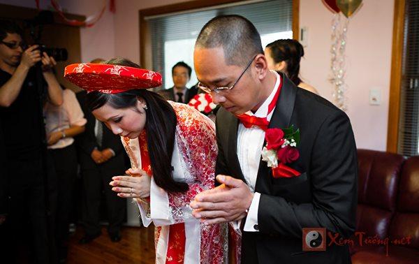 Nghi lễ gia tiên trong cưới hỏi hai miền