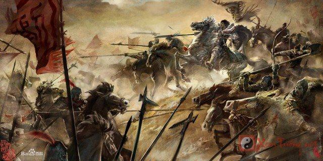 Hạng Vũ là người giàu kinh nghiệm chiến đấu trên trận mạc