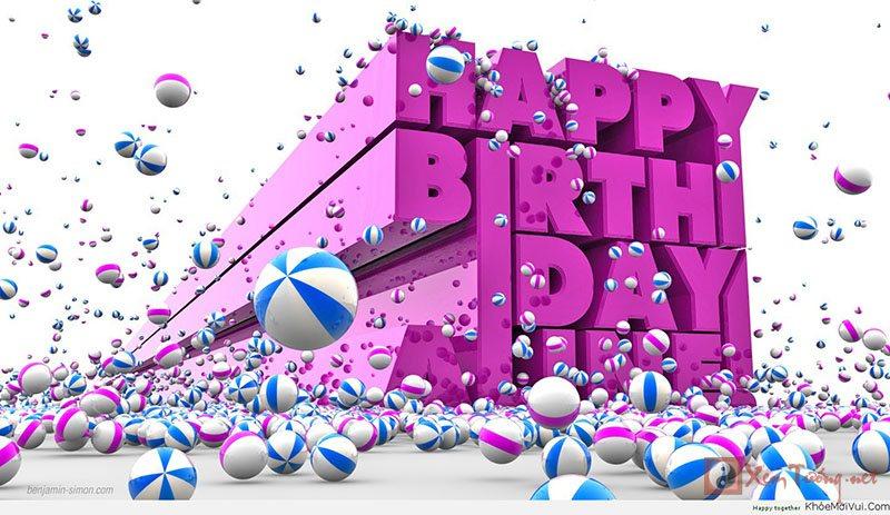 Những lời chúc sinh nhật hay dành tặng bạn trai