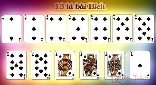 xem bói bài và ý nghĩa của 13 lá bài Bích