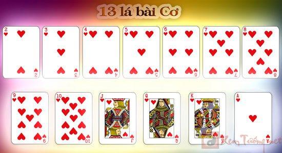 xem bói bài và ý nghĩa của 13 lá bài Cơ