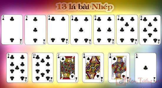 xem bói bài và ý nghĩa của 13 lá bài Nhép