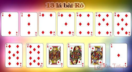 xem bói bài và ý nghĩa của 13 lá bài Rô
