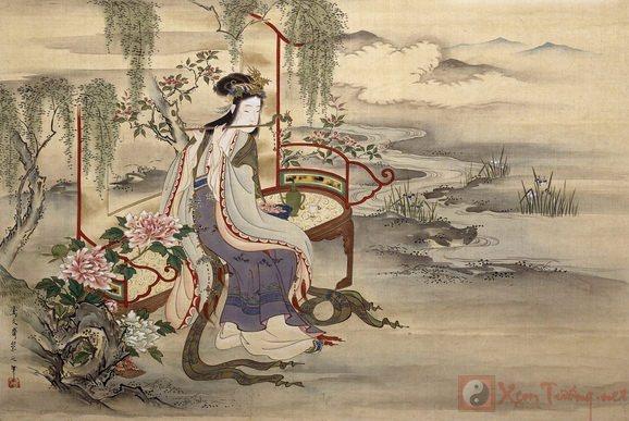 sao thiên phủ tượng trưng cho Khương hoàng hậu