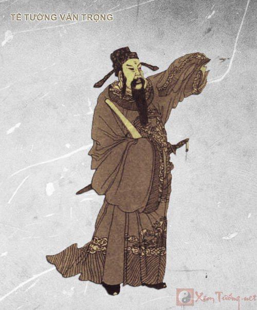 Sao Thiên Tướng - tể tướng Văn Trọng
