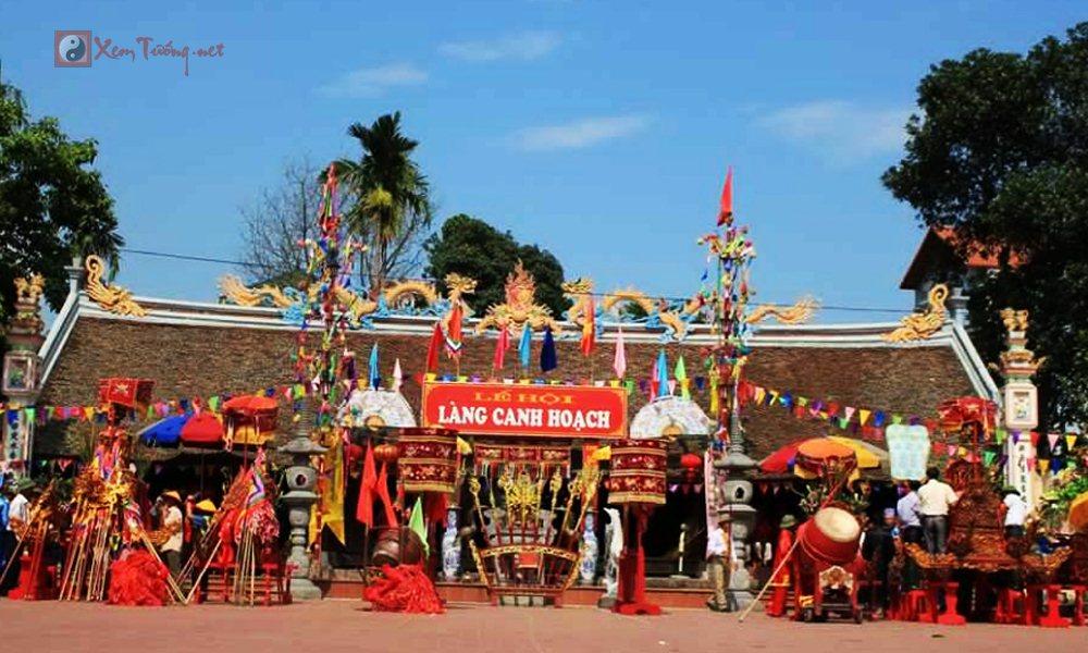 Các lễ hội ngày 12 tháng 3 Âm Lịch - Hội Làng Canh Hoạch