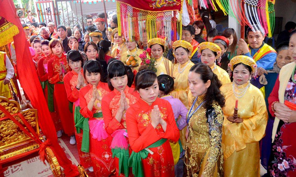 Các lễ hội ngày 14 tháng 4 Âm Lịch - Hội Làng Thượng Phúc