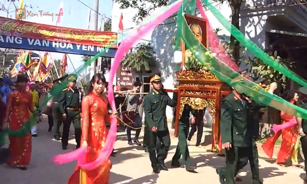 Các lễ hội ngày 17 tháng 3 Âm Lịch - Hội Làng Yên Mỹ